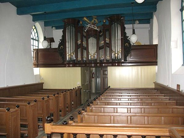 Westernieland int richting orgel